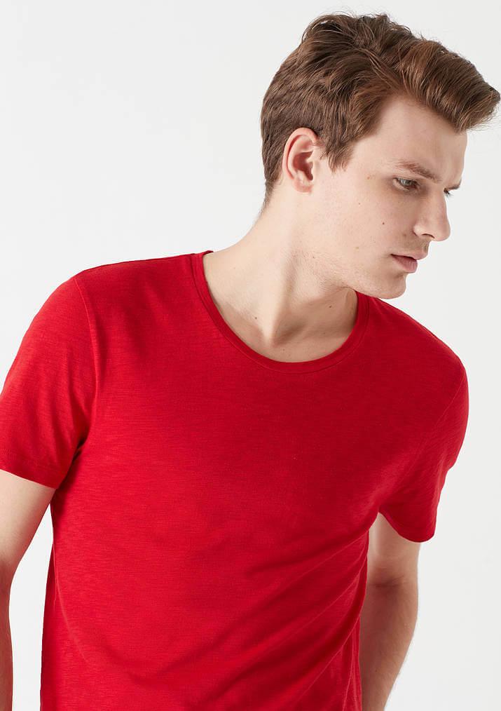 Mavi Jeans Erkek Kırmızı Basic Tişört