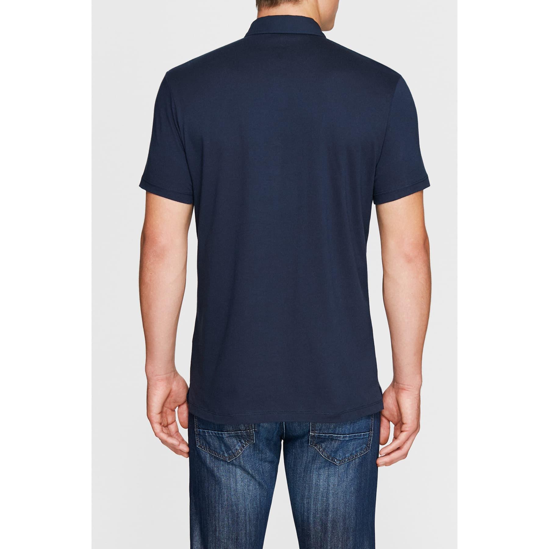 Mavi Jeans Erkek Lacivert Polo Yaka Tişört