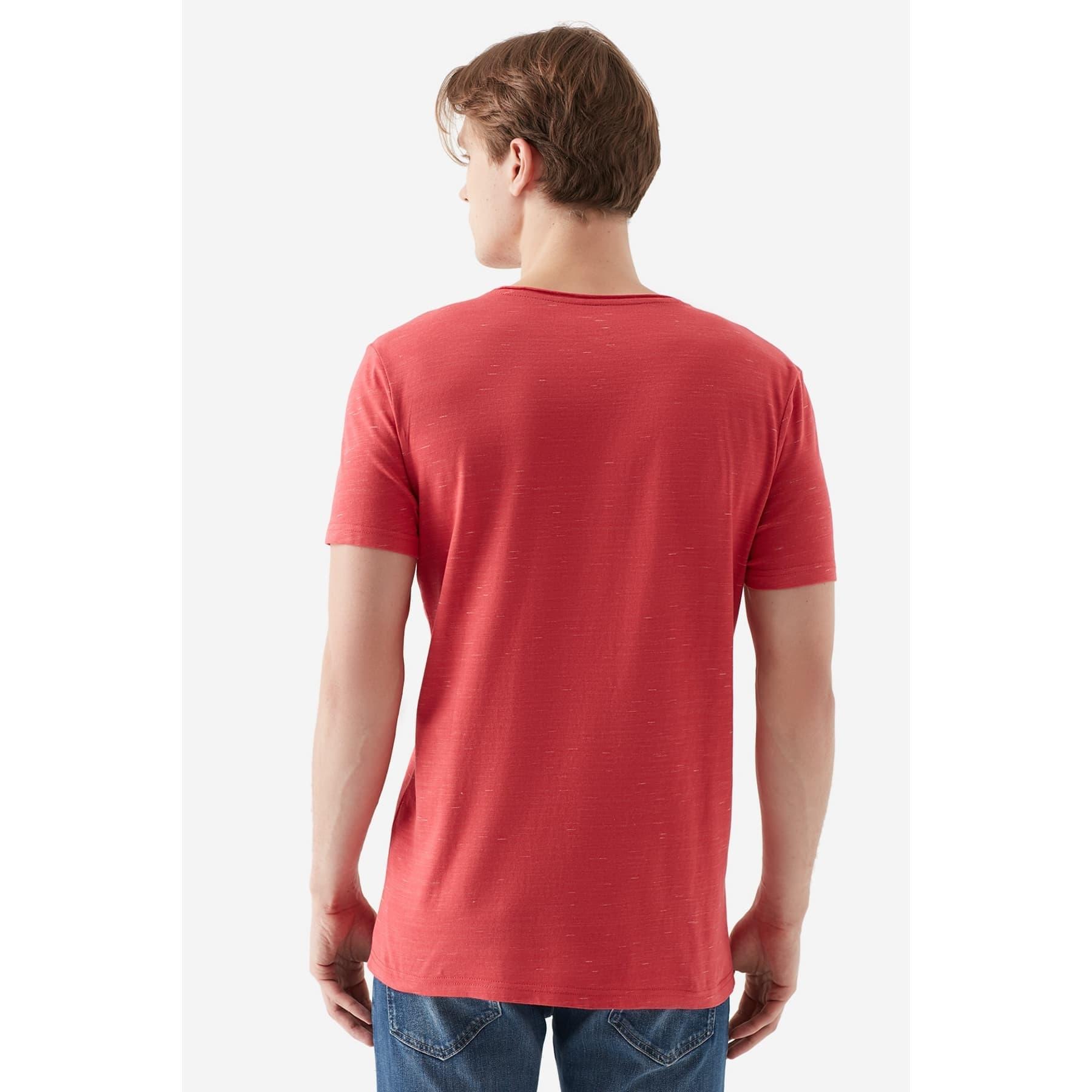 Tişört Canlı Kırmızı