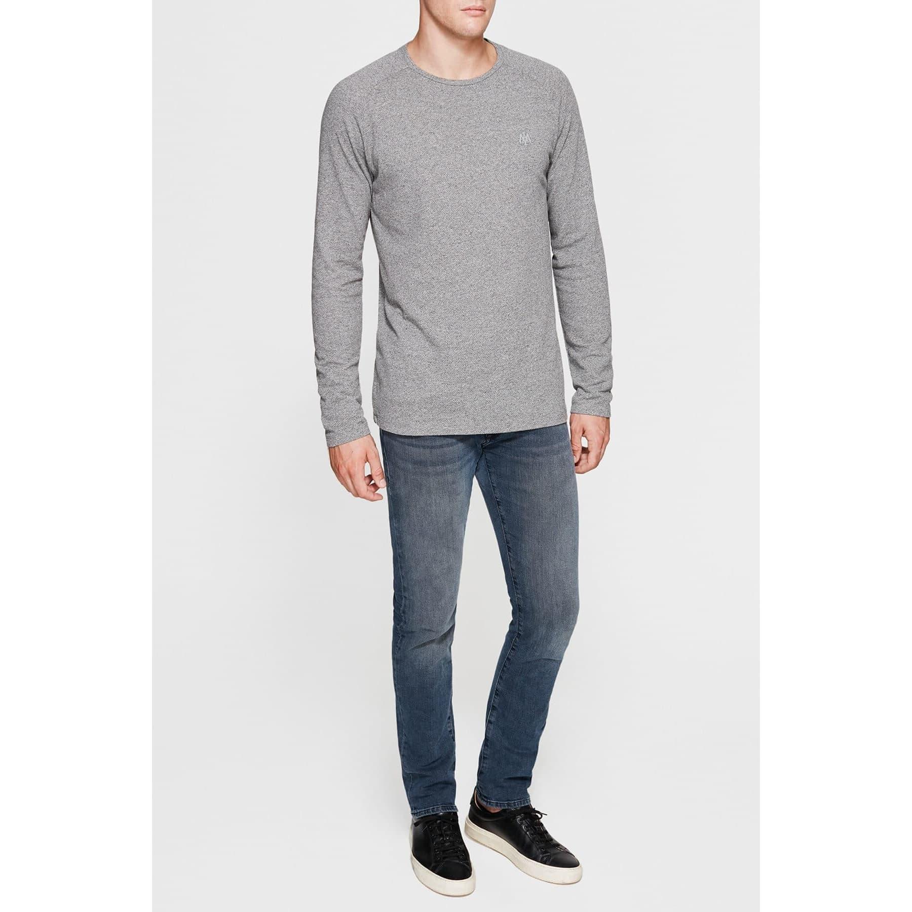 Mavi Jeans Uzun Kollu Gri Erkek Sweatshirt