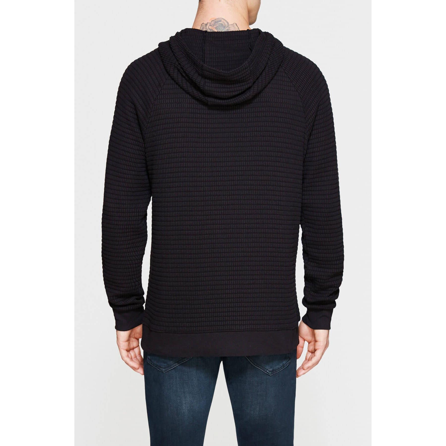 Mavi Jeans Kapüşonlu Erkek Siyah Sweatshirt