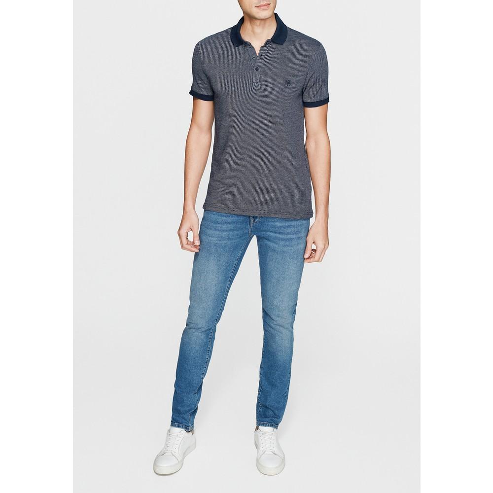 Mavi Jeans Lacivert Erkek Polo Yaka Tişört