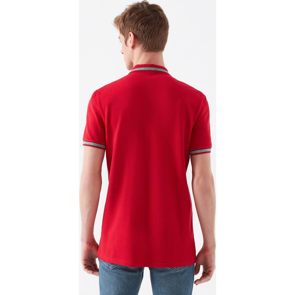 Polo Tişört Parlak Kırmızı