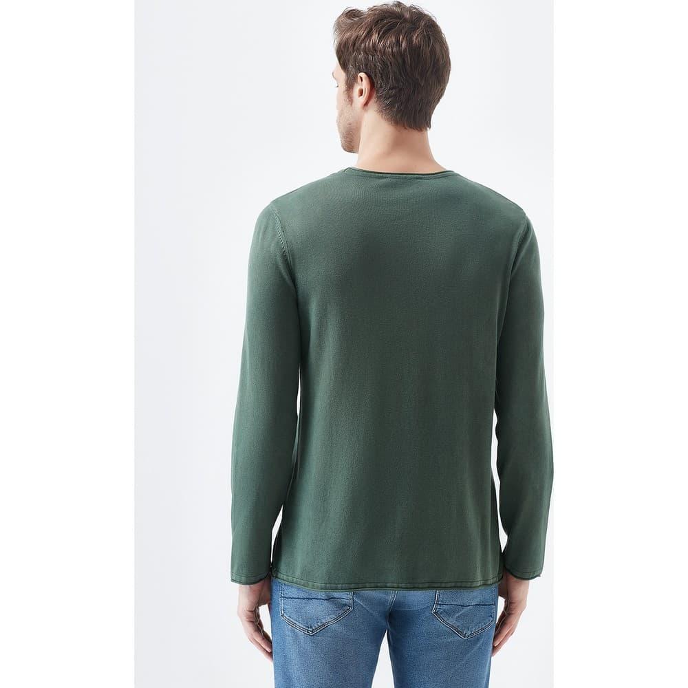 Mavi Jeans Haki Yeşili Erkek Kazak