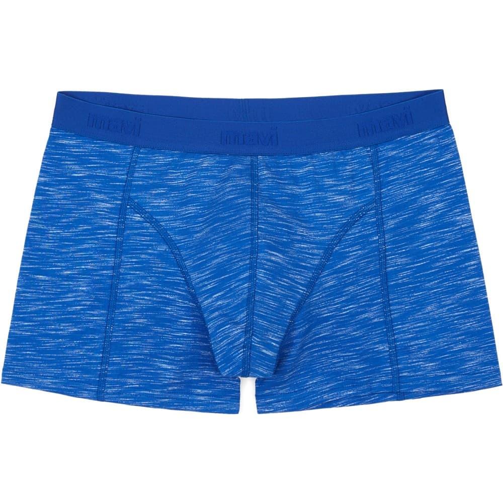 Mavi Jeans Çizgili Pus Mavisi Boxer