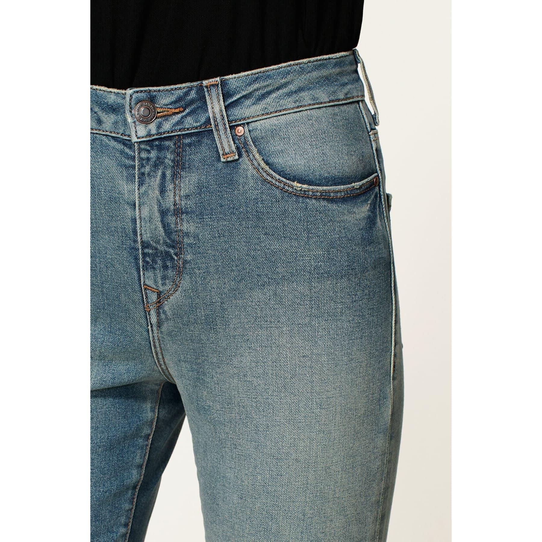 Mom Jean Cindy Indigo 90's Vintage Mavi Kadın Kot Pantolon