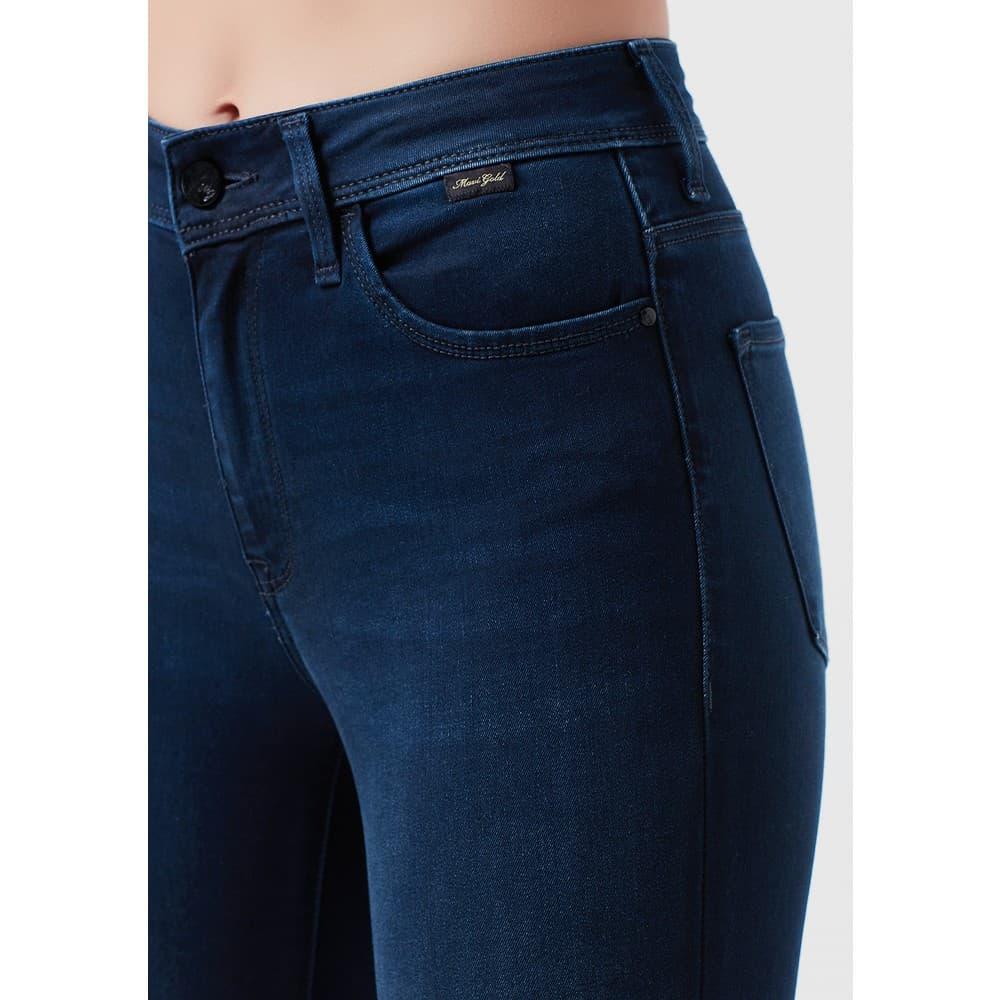 Tess Gold Lux Move Tencel Kadın Jean Pantolon
