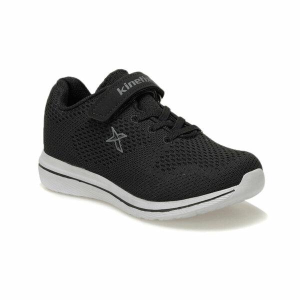 Adellio Erkek Siyah Çocuk Yürüyüş Ayakkabısı