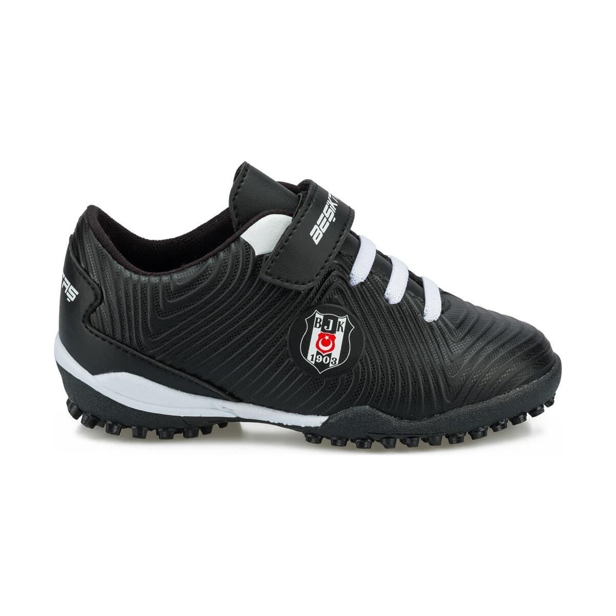BJK Agron J Turf Çocuk Siyah Halı Saha Ayakkabısı (100511947)