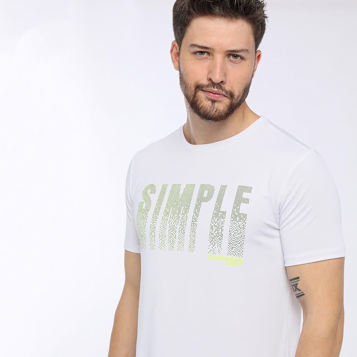 Chesleigh Kk Beyaz Erkek Tişört