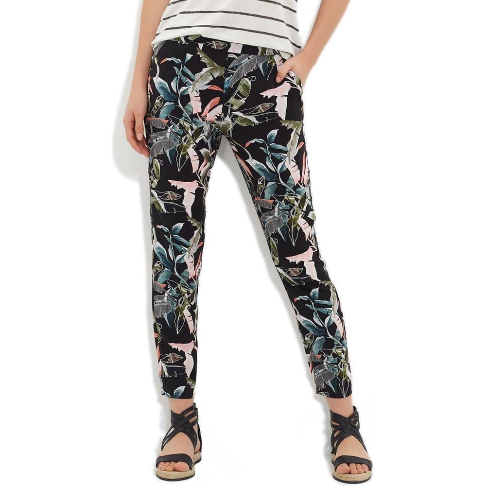 Beli Lastikli Kadın Siyah Pantolon