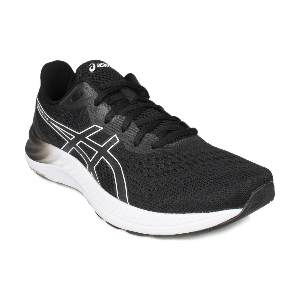 Gel-Excite 8 Erkek Siyah Koşu Ayakkabısı (1011B036-002)