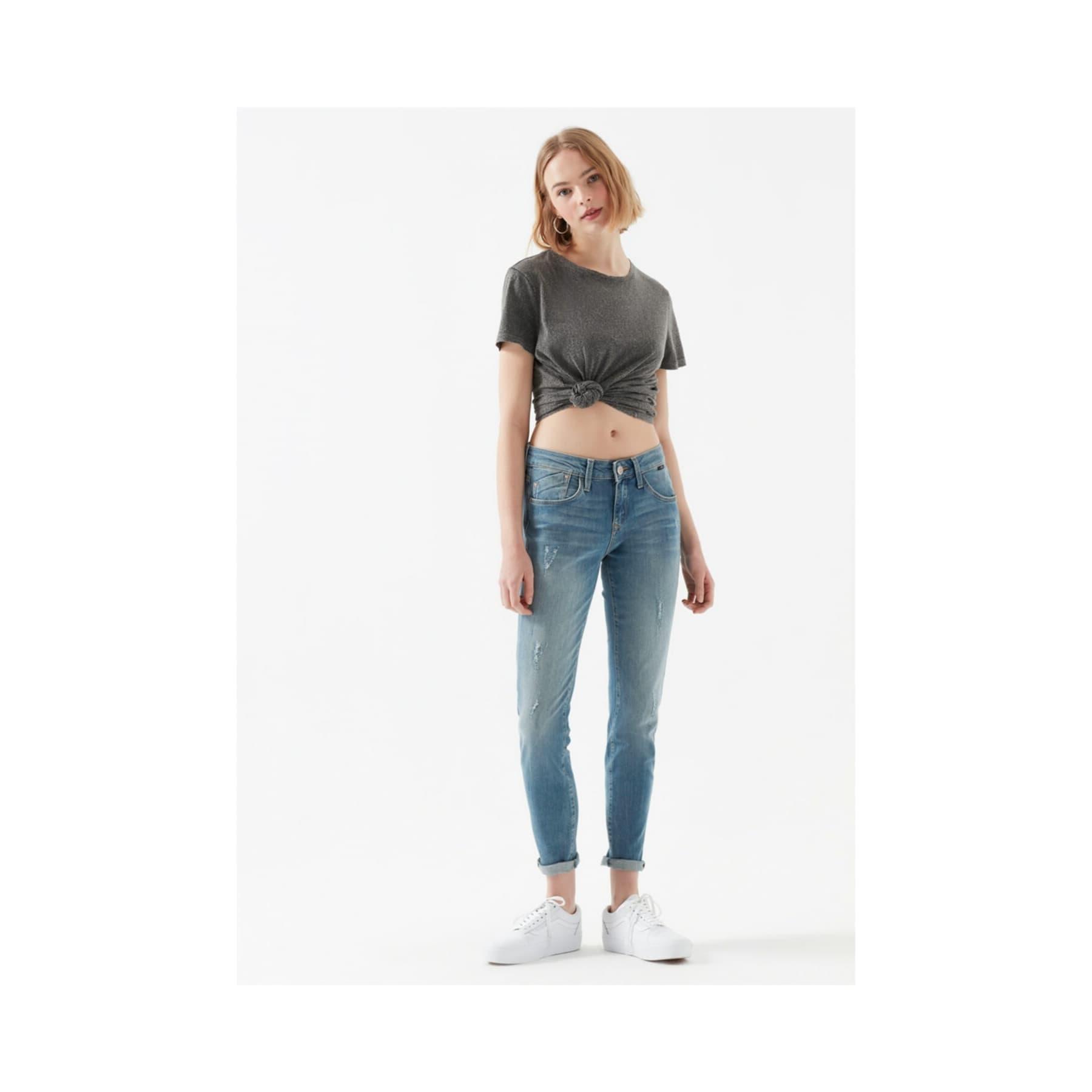 Ada Vintage Kadın Mavi Jean Pantolon