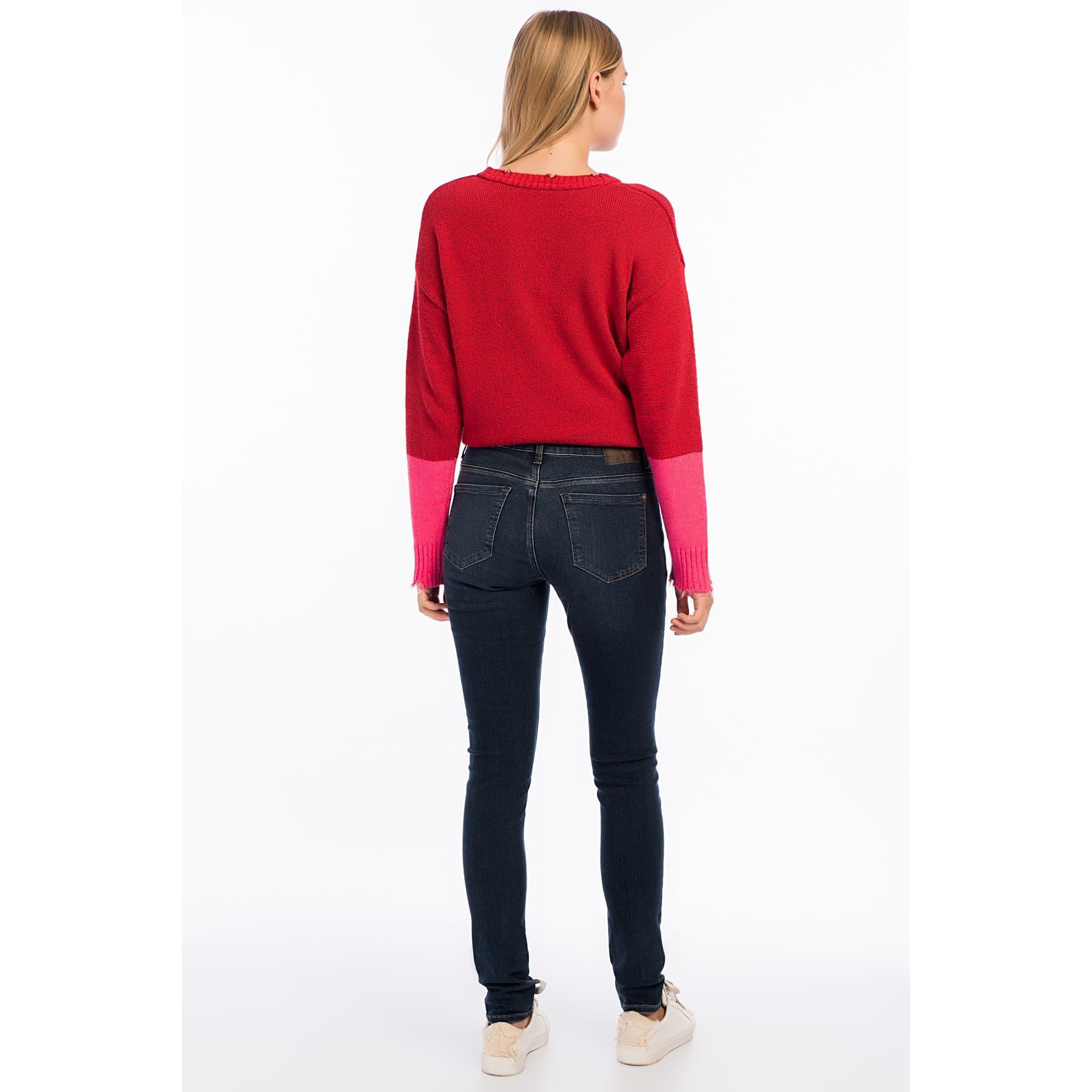 Alissa Alissa Vintage Glam Kadın Jean Pantolon