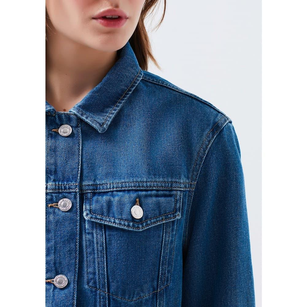Mavi Jeans Jill Kadın Indigo Jean Ceket