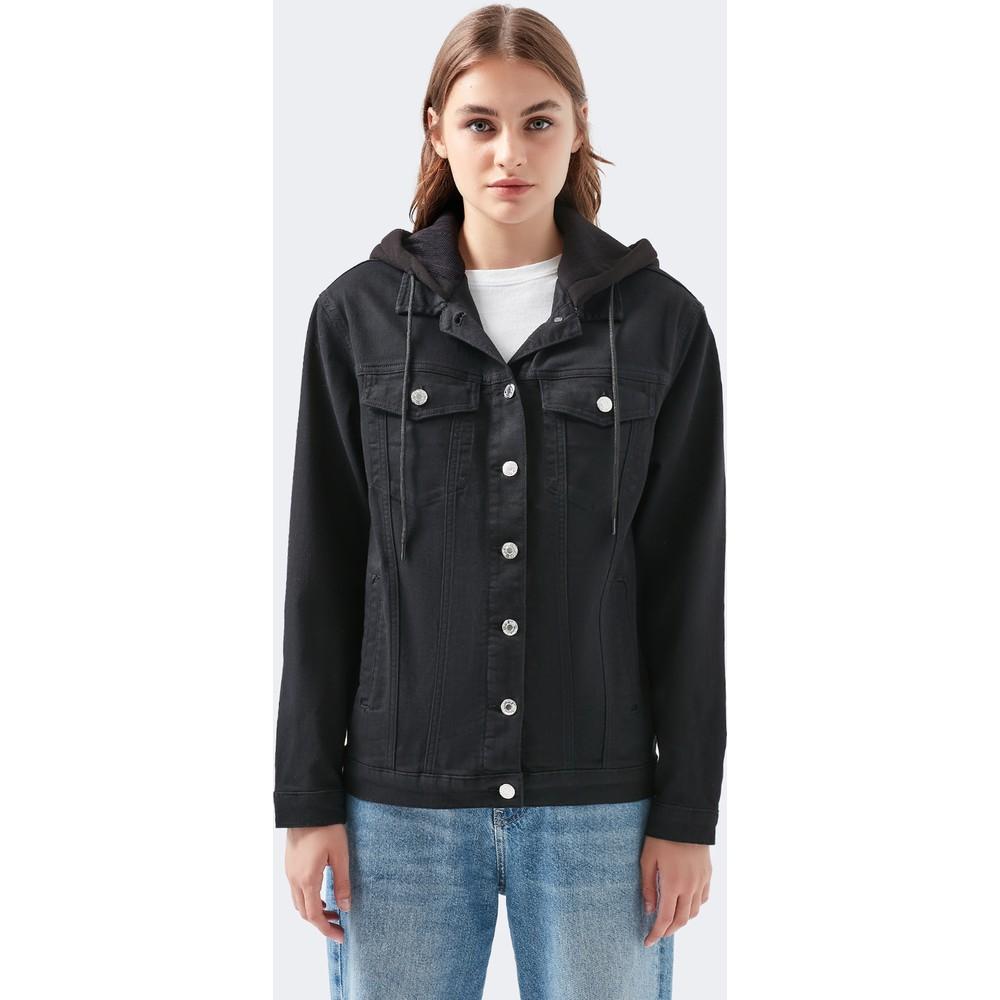 Mavi Jeans Karla Kadın Siyah Jean Ceket