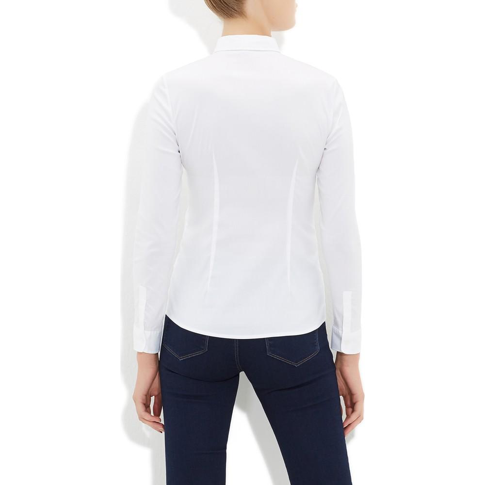 Stretch Gömlek Beyaz