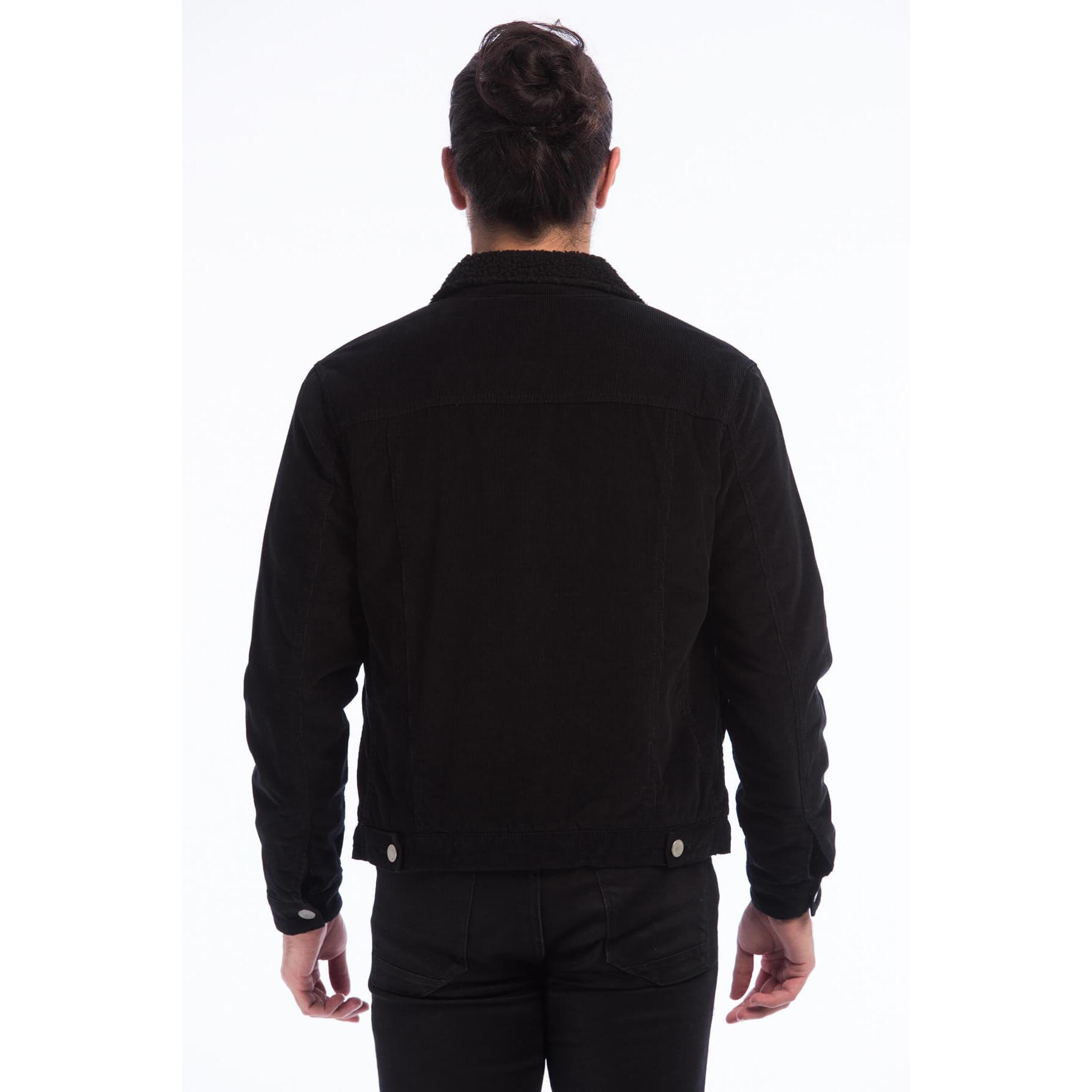 Sherpa Erkek Siyah Ceket