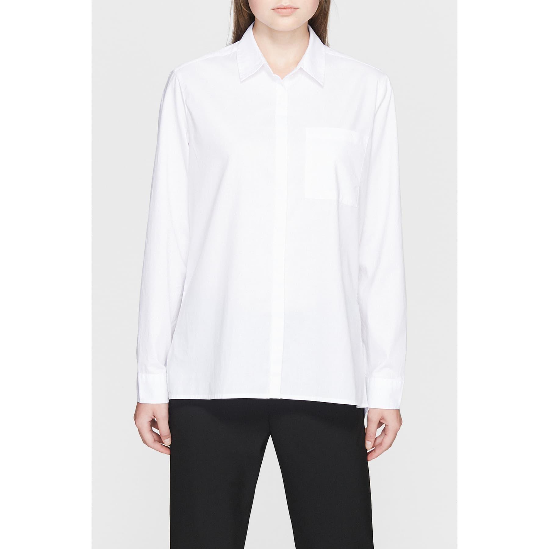 Uzun Kollu Gömlek Beyaz
