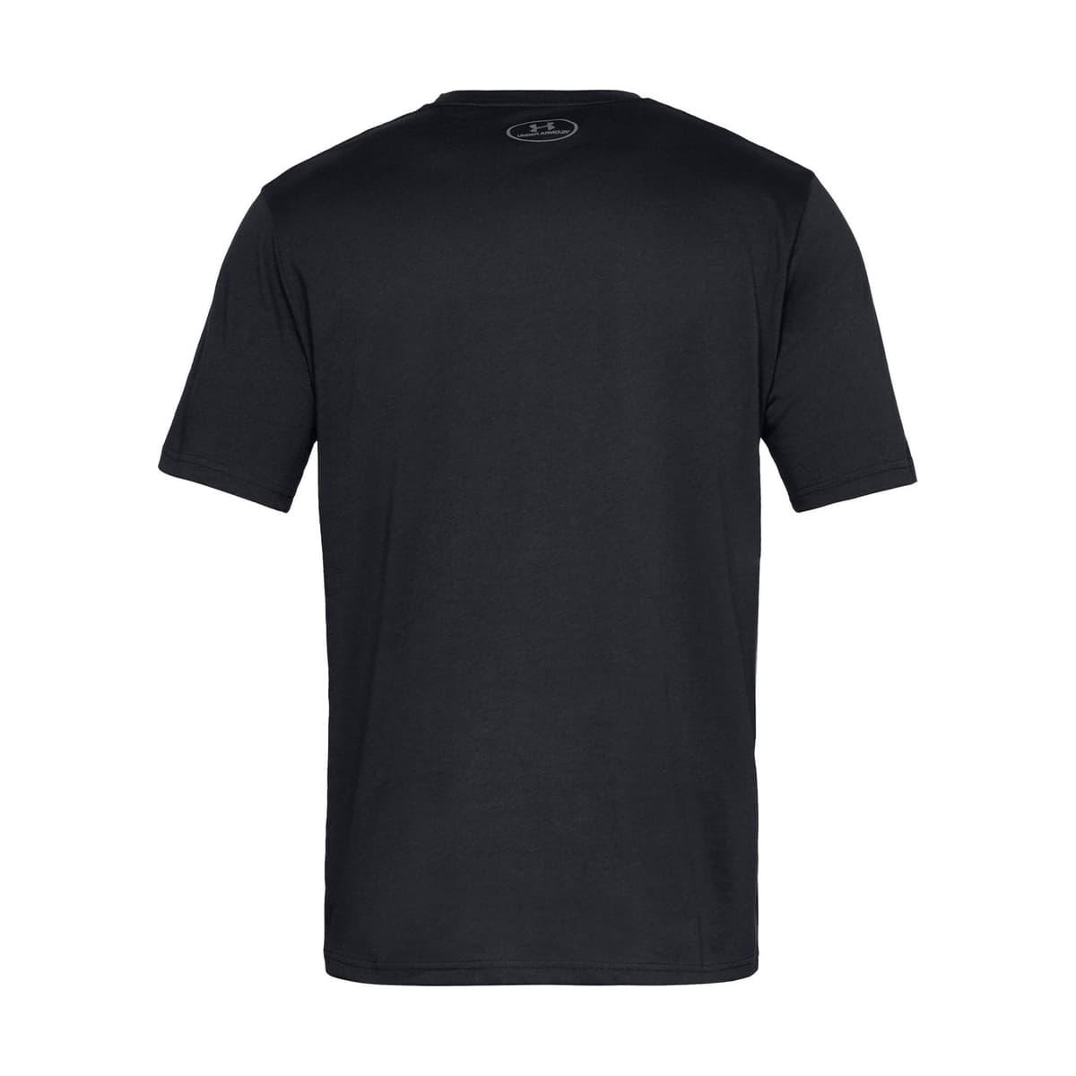 Big Logo Erkek Siyah Tişört (1329583-001)