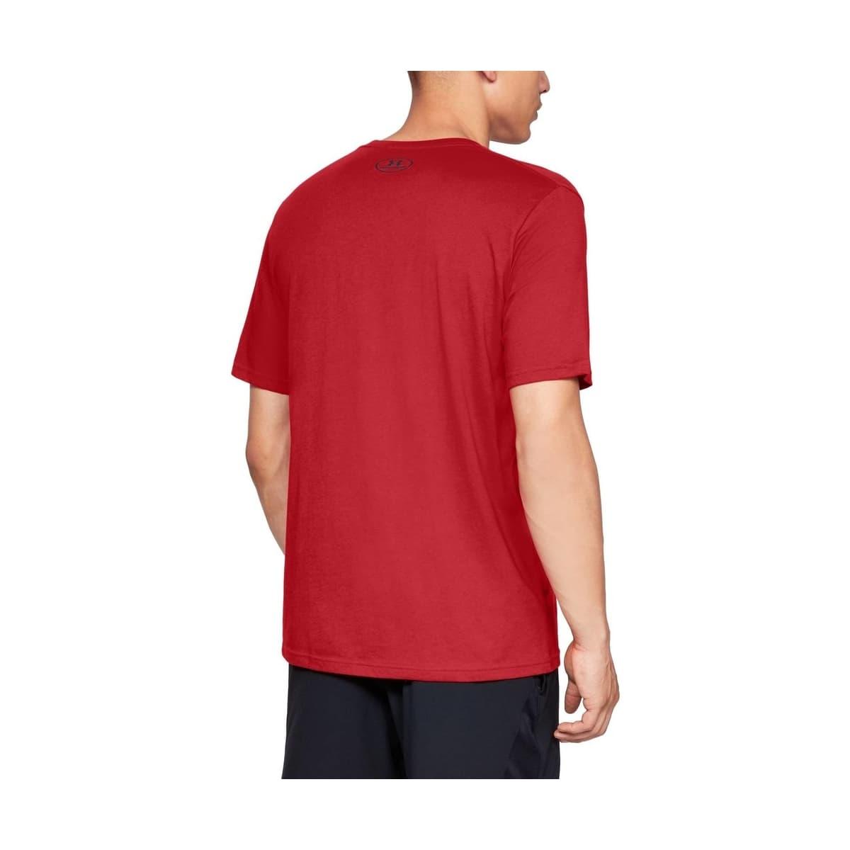 Big Logo Erkek Kırmızı Tişört (1329583-600)