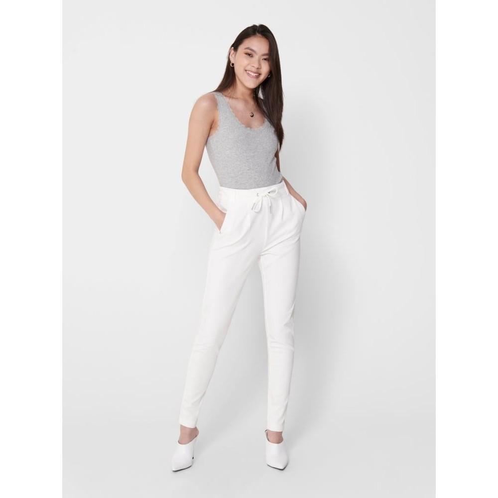 Onlpoptrash Kadın Beyaz Pantolon