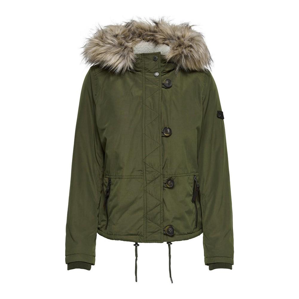 Onlpeyton Aw Short Fur Jacket Cc Otw