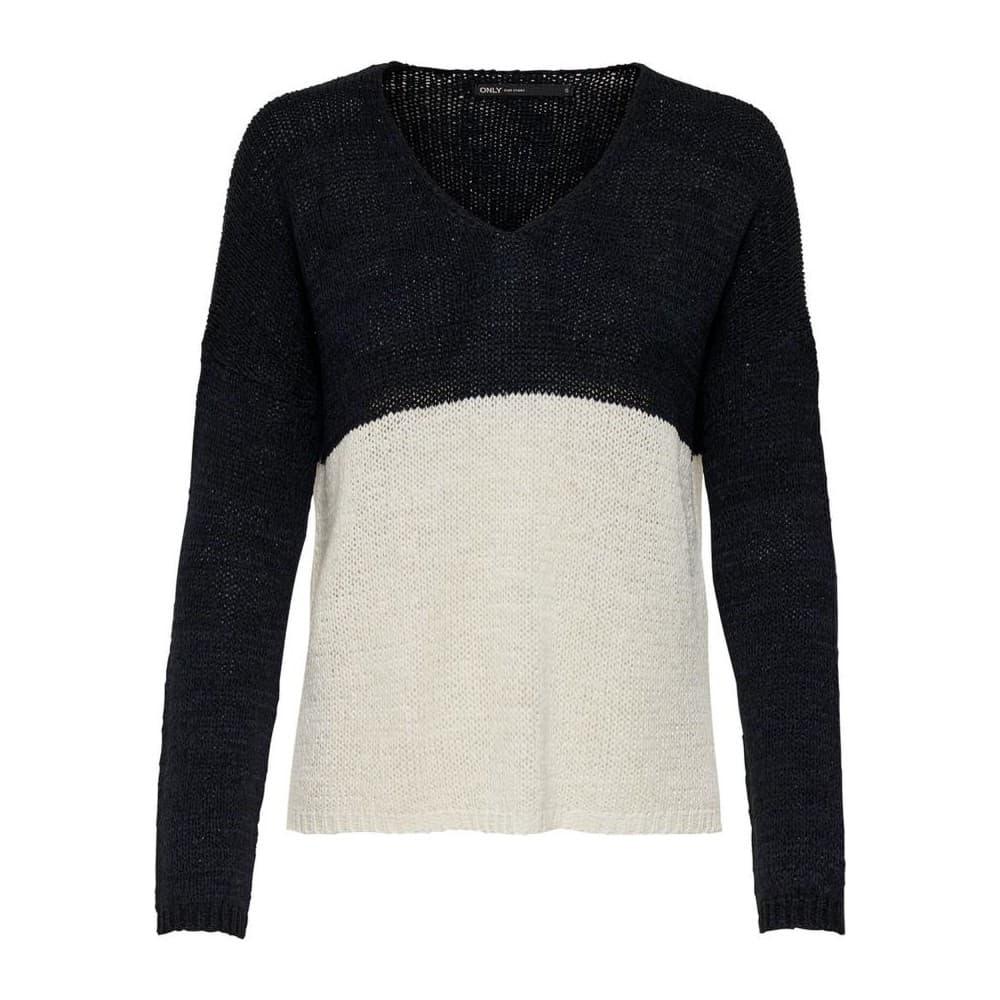 Onlnew Gabbi V-Neck L/s Pullover Cc Knt