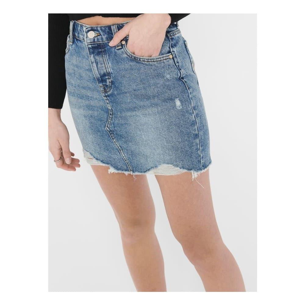 Onlsky Life Reg Dnm Skirt BB Pim992 Noos