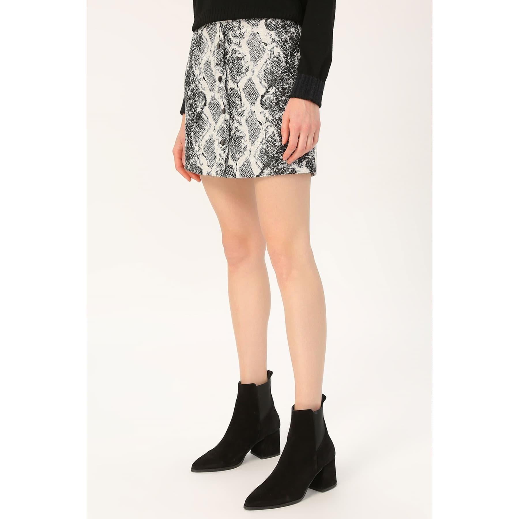 Onldarline Jaquard Snake Skirt Otw
