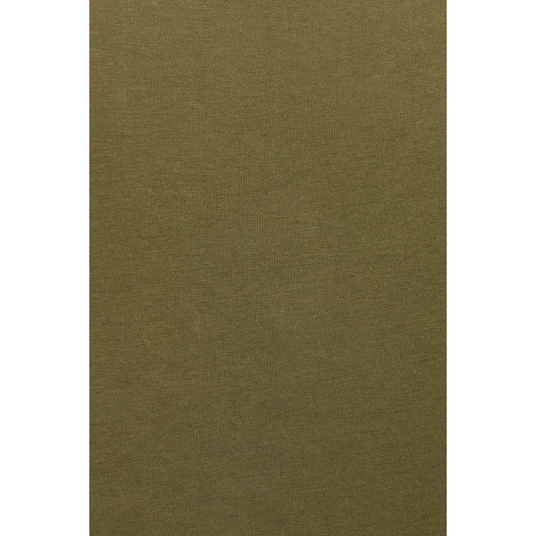 Kisa Kol Basic Penye Zeytin Yeşili