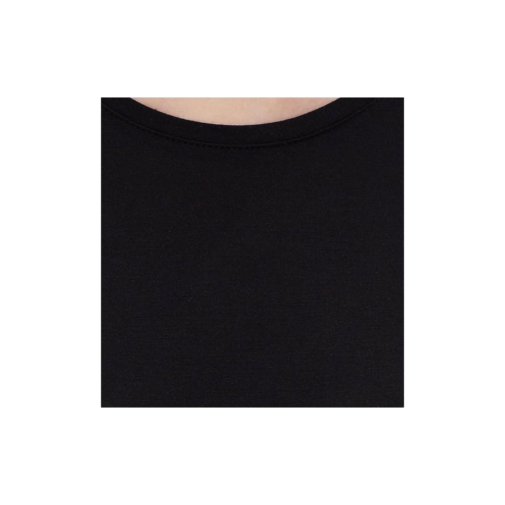 Kadın Basic Siyah Tişört (166327-900)