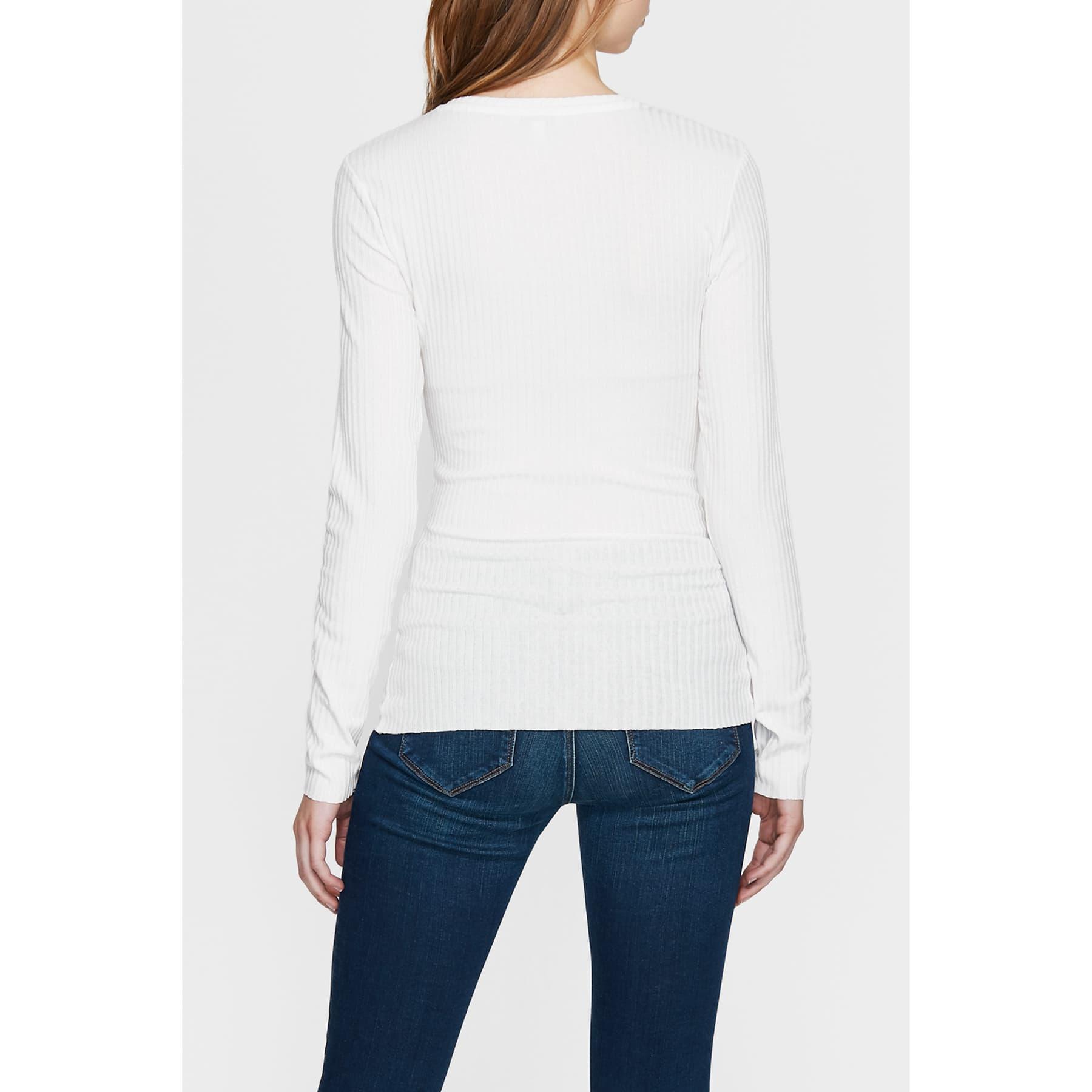 Mavi Jeans Kadın Çapraz Bağcıklı Beyaz Bluz