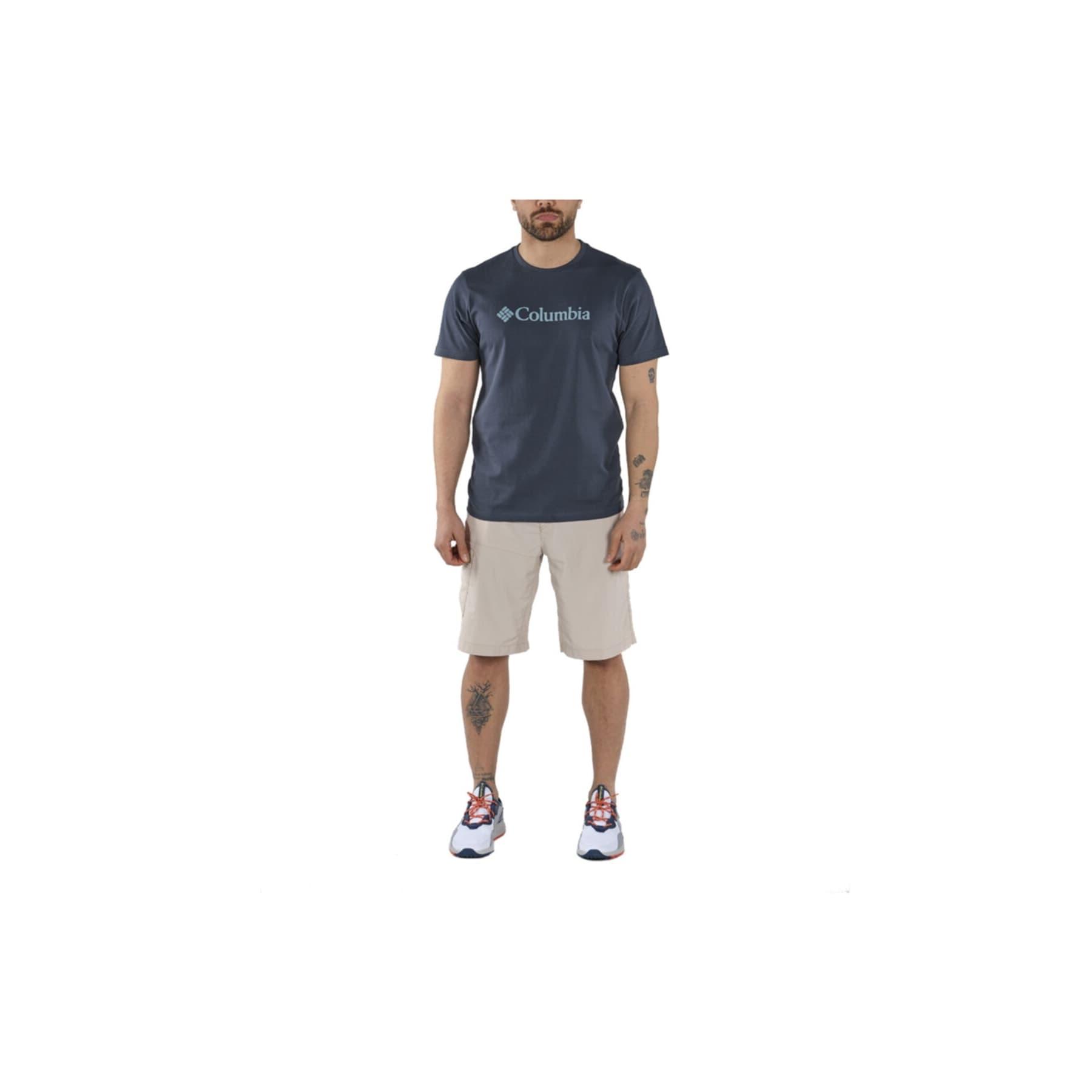 CSC Basic Logo™ Erkek Lacivert Tişört (CS0001_494)