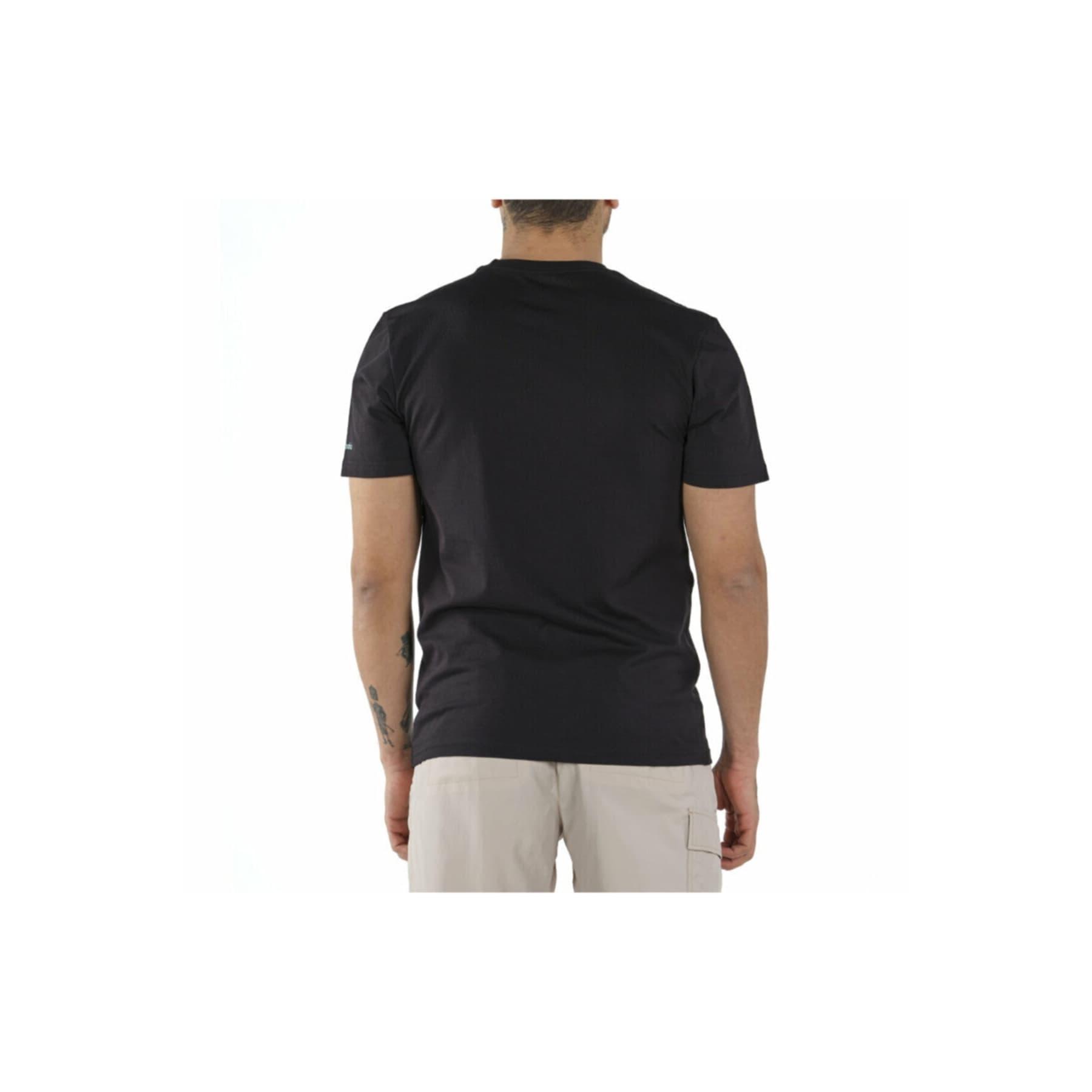 Elevated Outlook Graphic Erkek Siyah Tişört (CS0132_010)