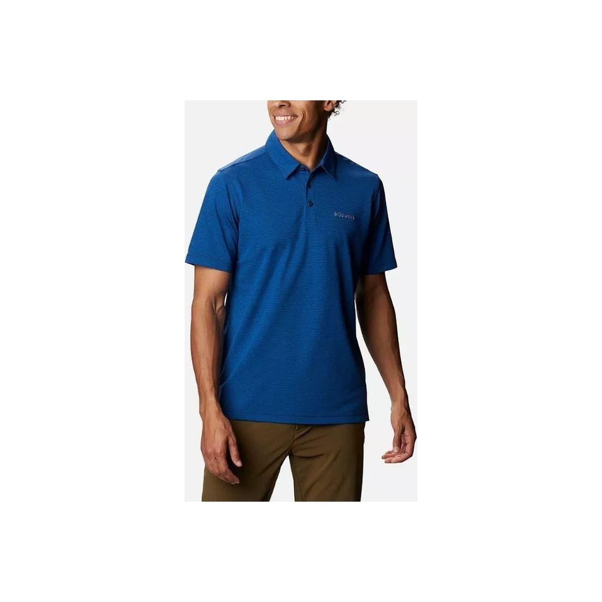 Havercamp Pique Erkek Mavi Polo Tişört (AM2996_464)