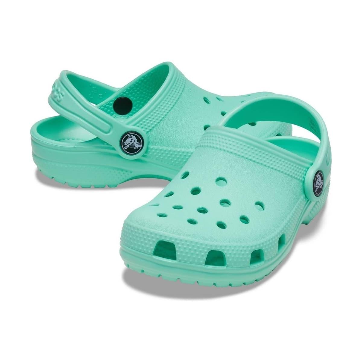 Classic Clog Çocuk Yeşil Terlik (204536-3U3)