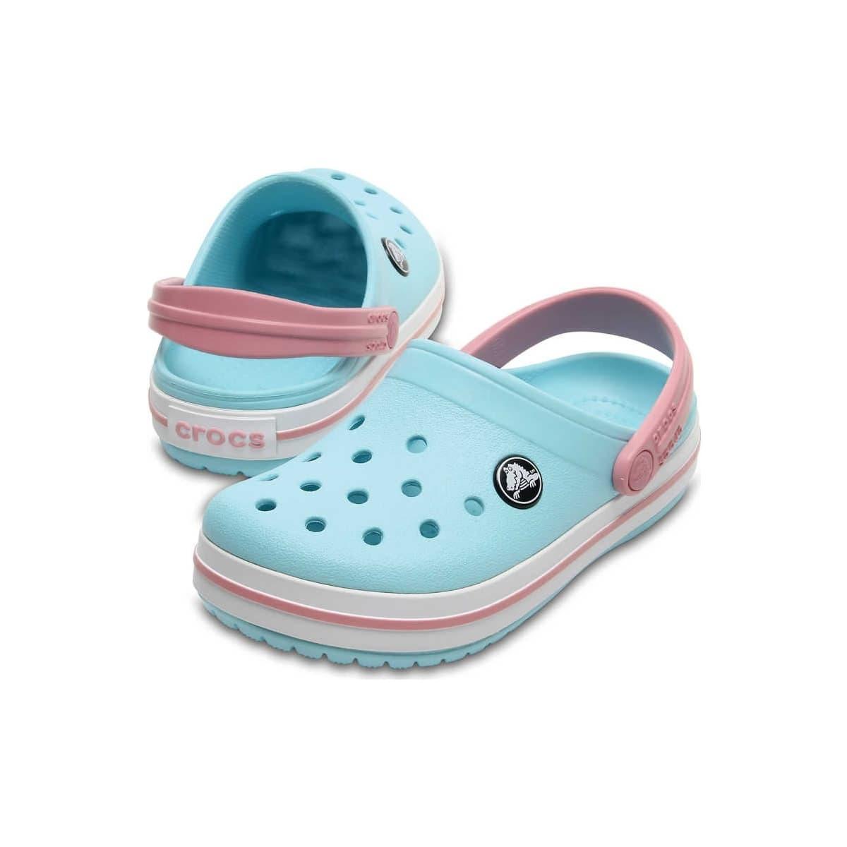 Crocband Clog K Çocuk Mavi Kemerli Terlik
