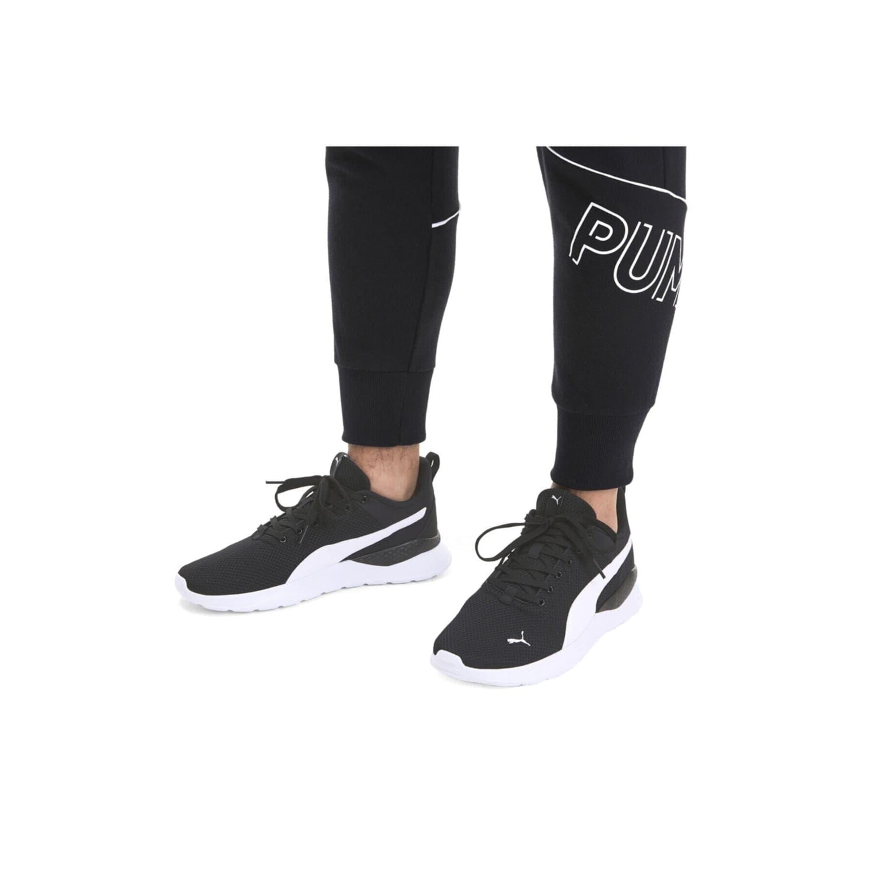 Anzarun Lite Siyah Koşu Ayakkabısı (371128-02)