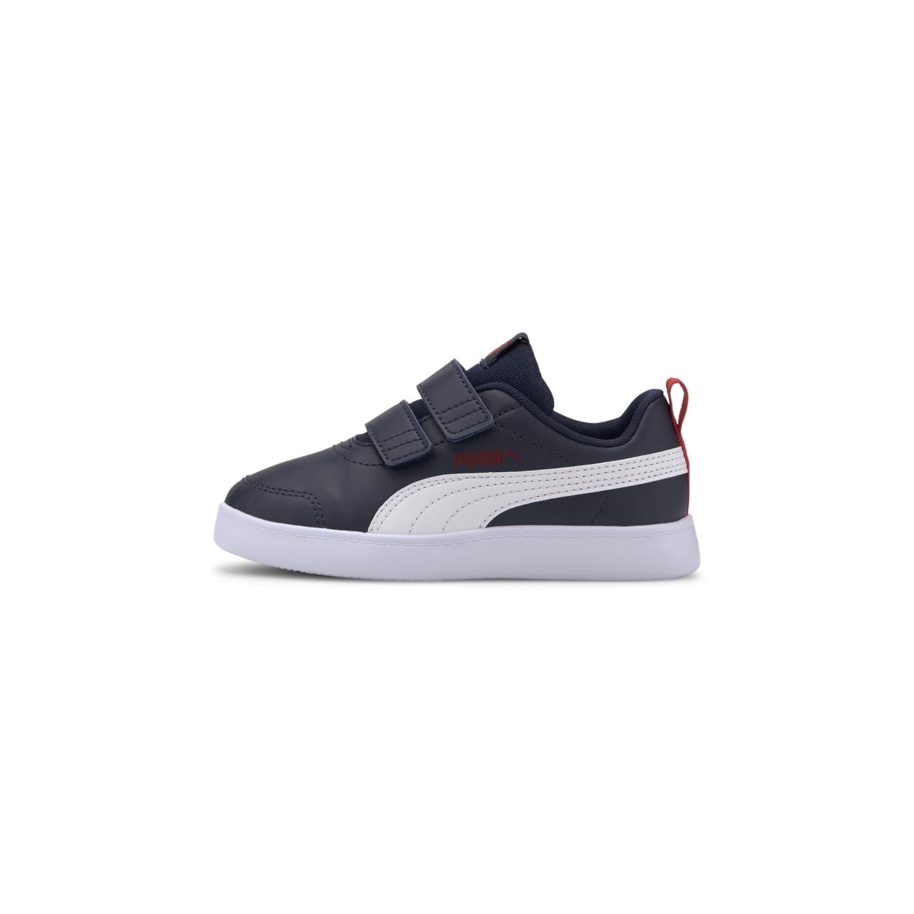 Courtflex V2 Çocuk Lacivert Spor Ayakkabı (371543-01)