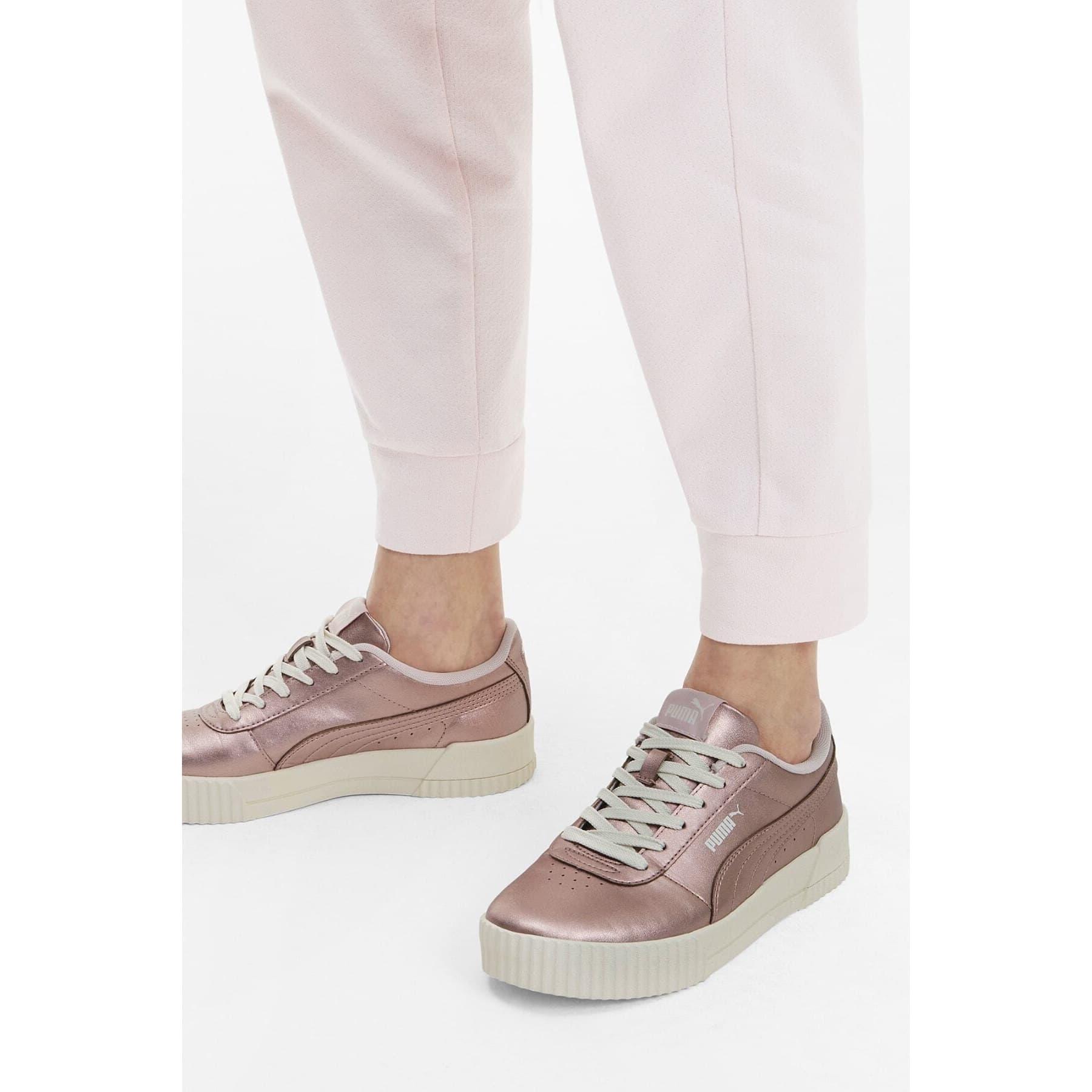 Carina Metallic Kadın Pembe Spor Ayakkabı