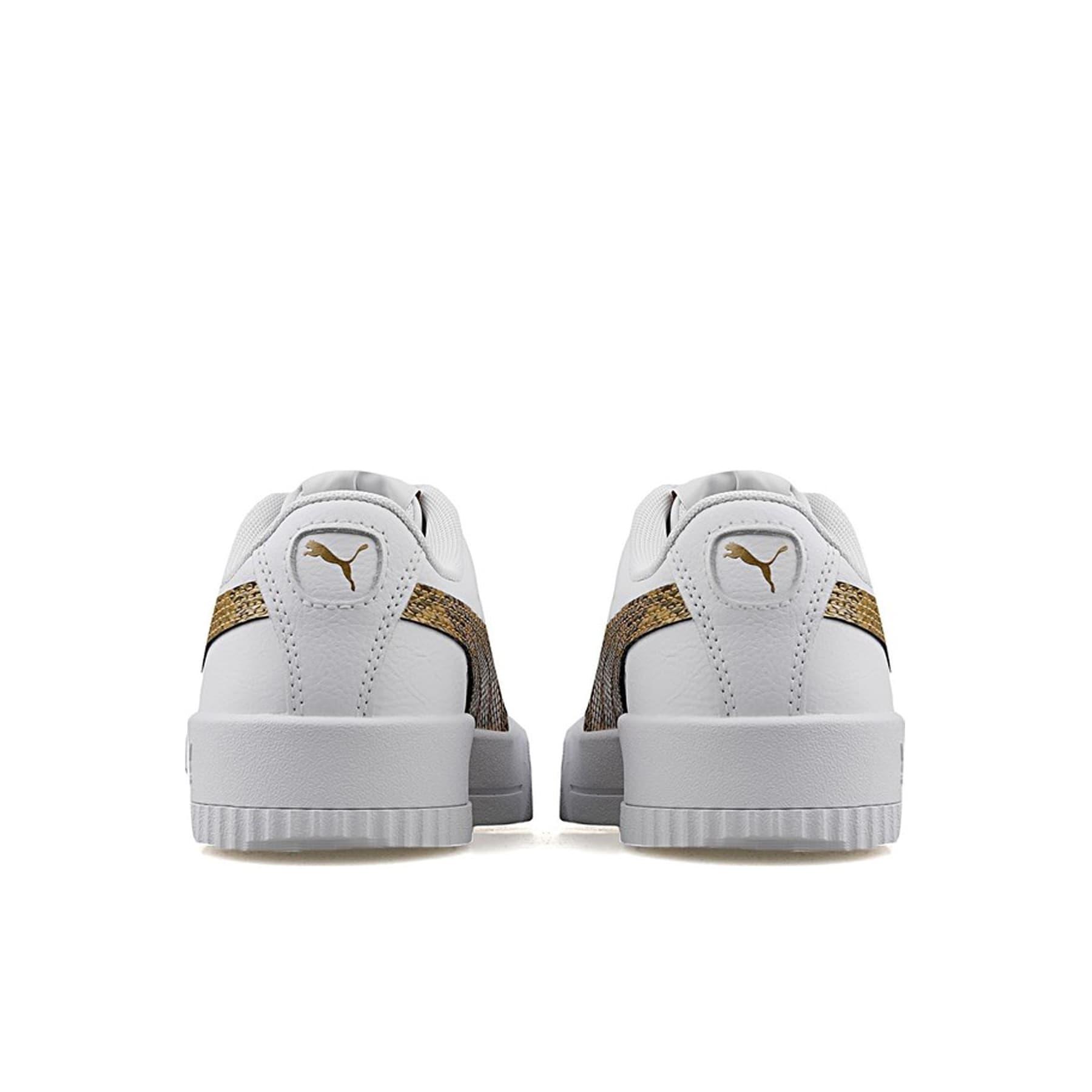 Carina Snake Kadın Beyaz Spor Ayakkabı (373808-01)