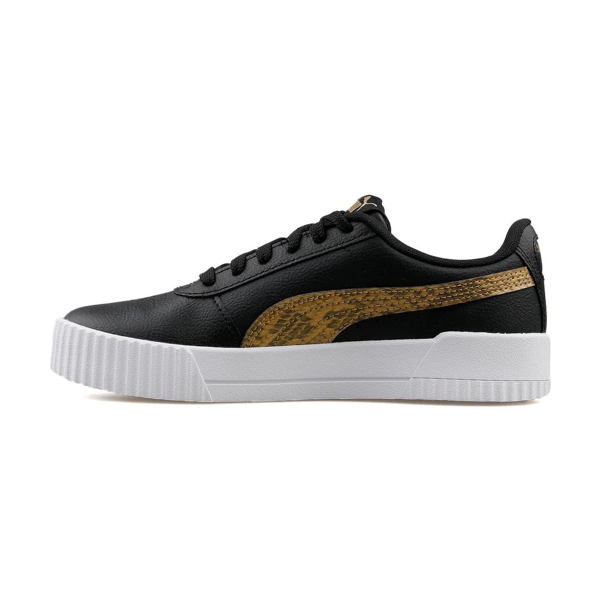 Carina Snake Kadın Siyah Spor Ayakkabı (373808-02)