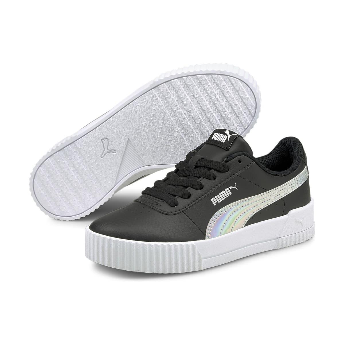Carina Rainbow Kadın Siyah Spor Ayakkabı (380895-02)