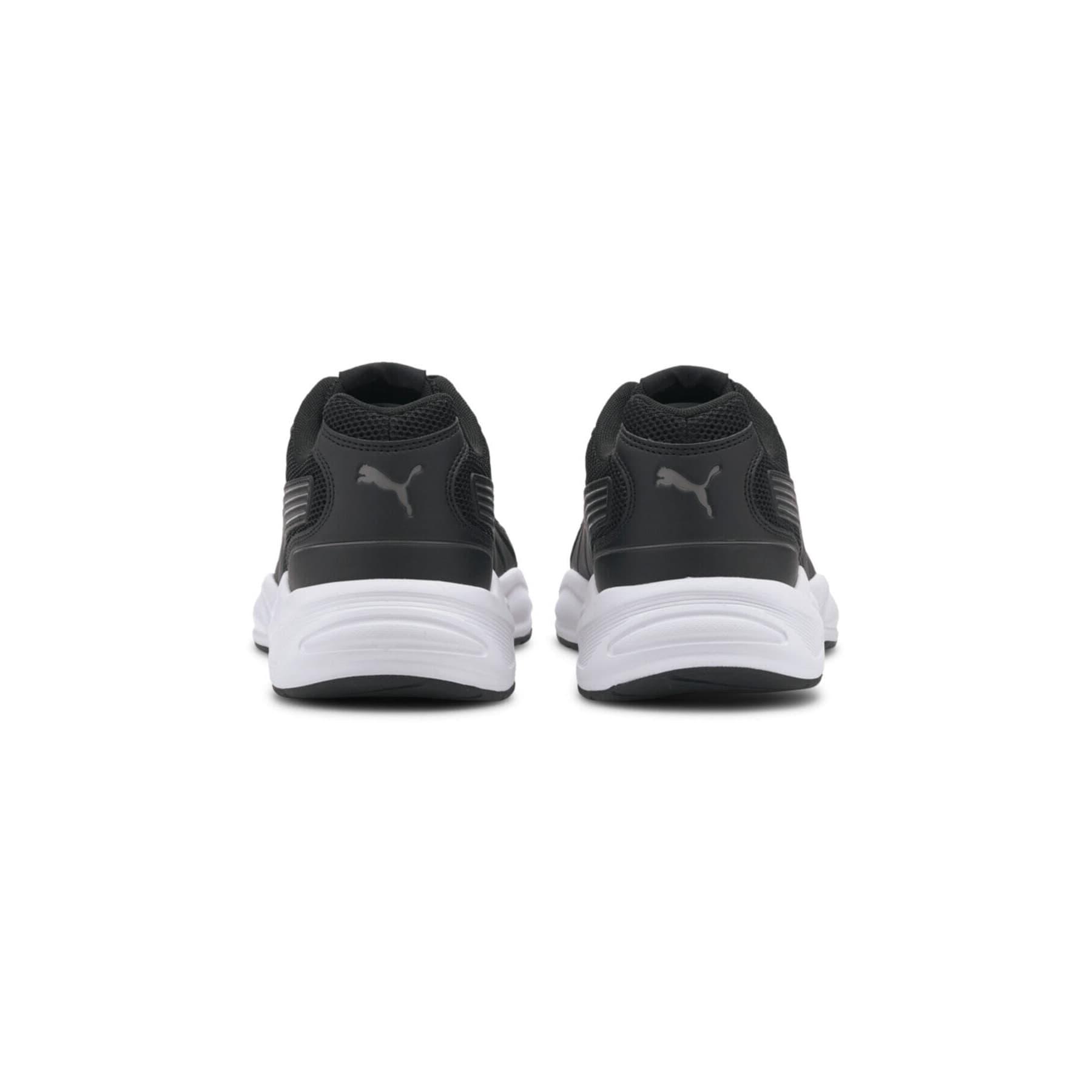 90s Runner Nu Wave Erkek Siyah Spor Ayakkabı (382958-01)