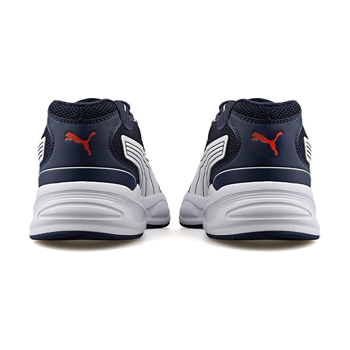 90s Runner Nu Wave Erkek Lacivert Spor Ayakkabı (382958-06)