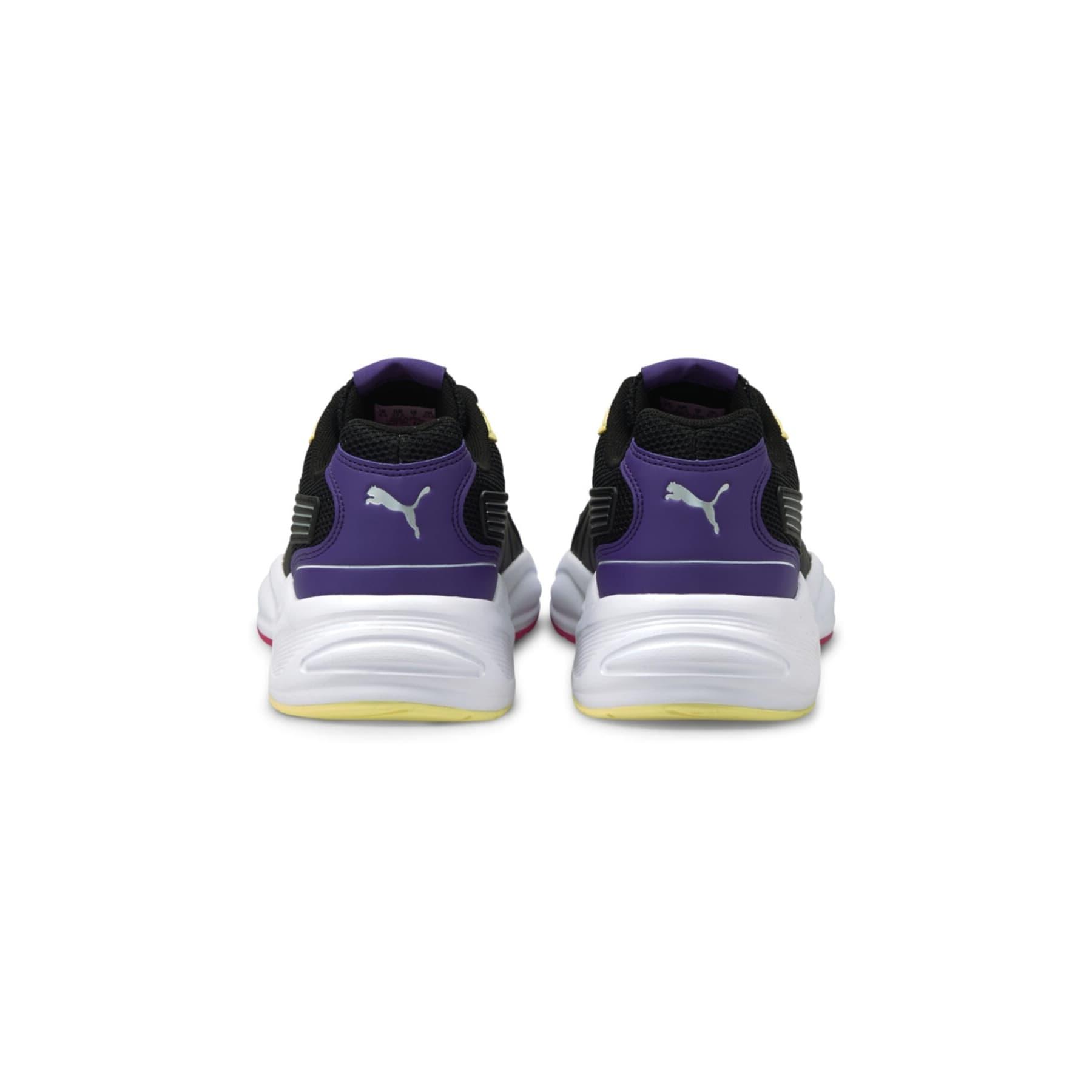 90s Runner Nu Wave Kadın Siyah Spor Ayakkabı (382958-08)