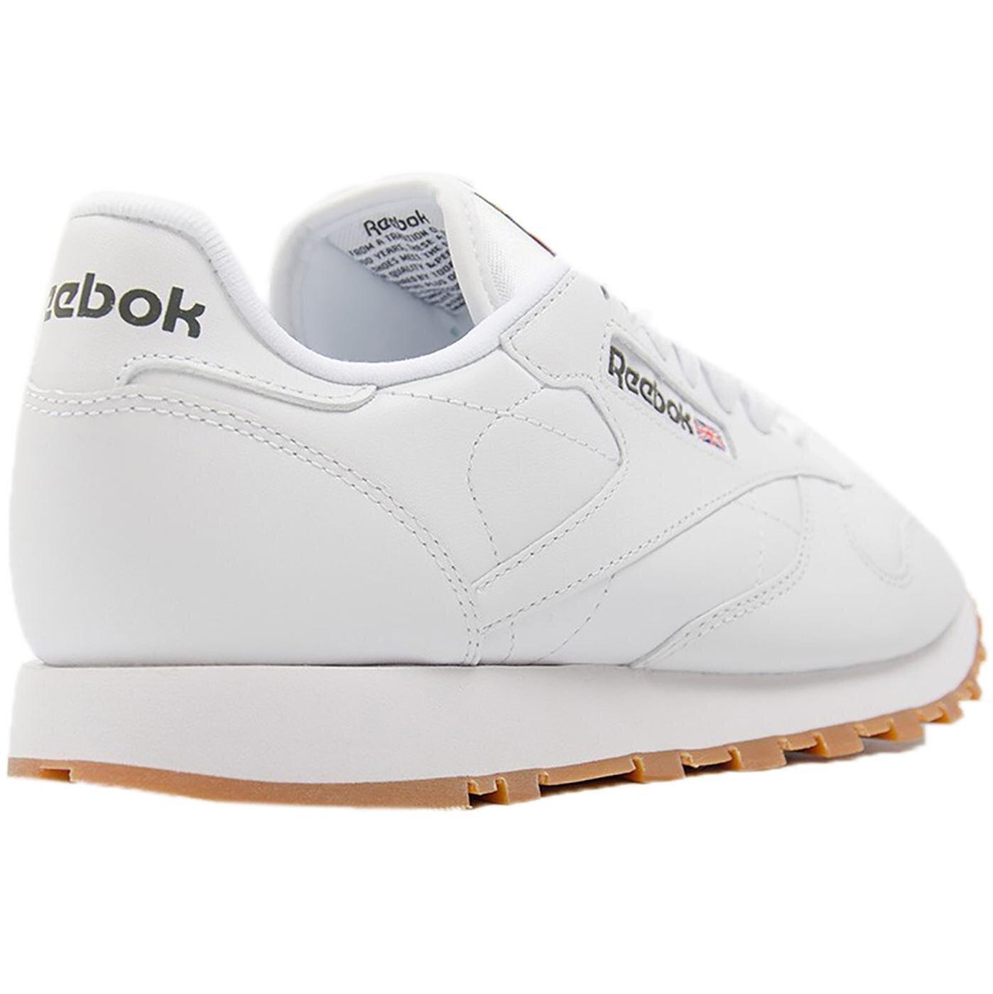 Classic Leather Erkek Beyaz Spor Ayakkabı (49799)
