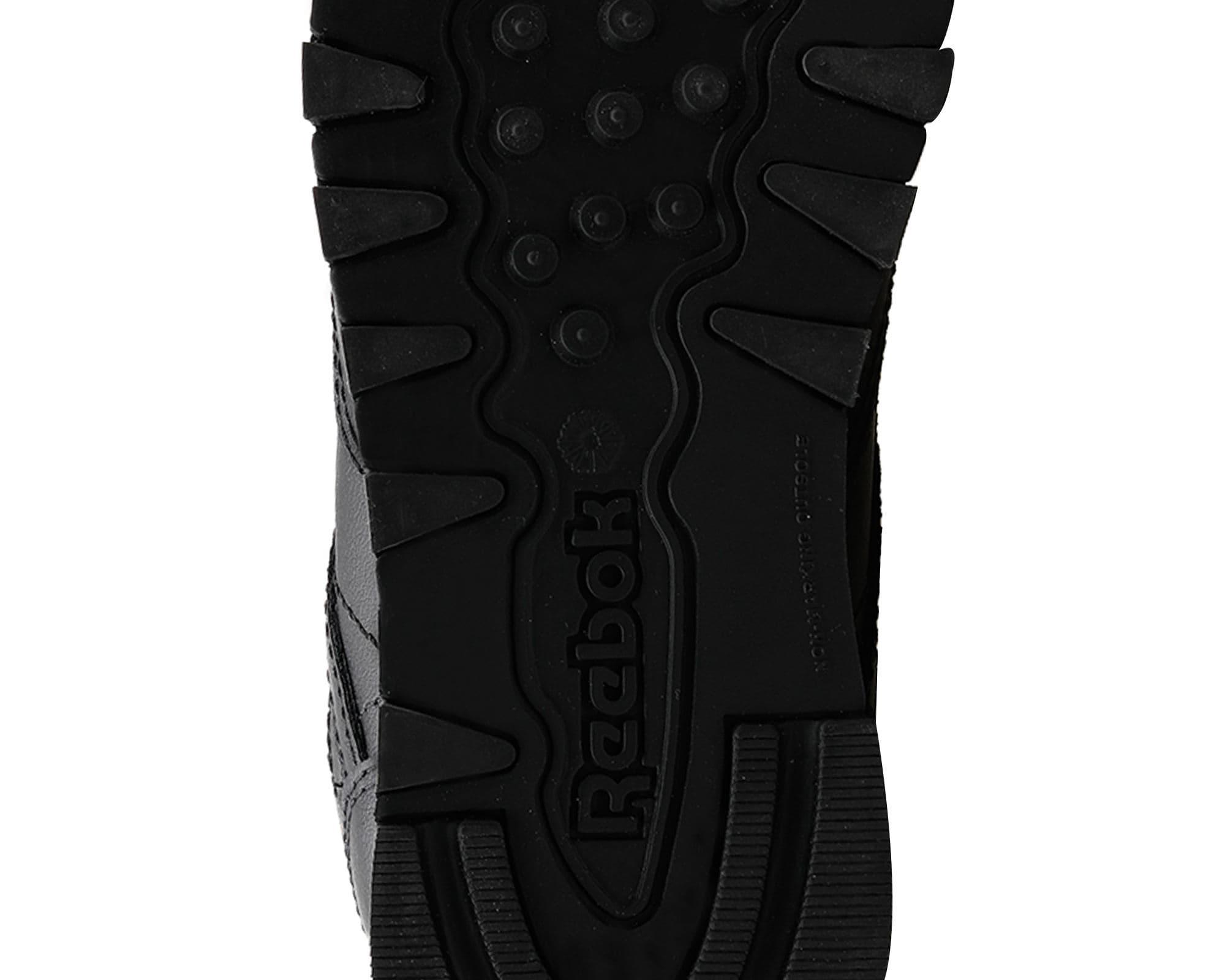 Classic Leather Çocuk Siyah Günlük Spor Ayakkabı
