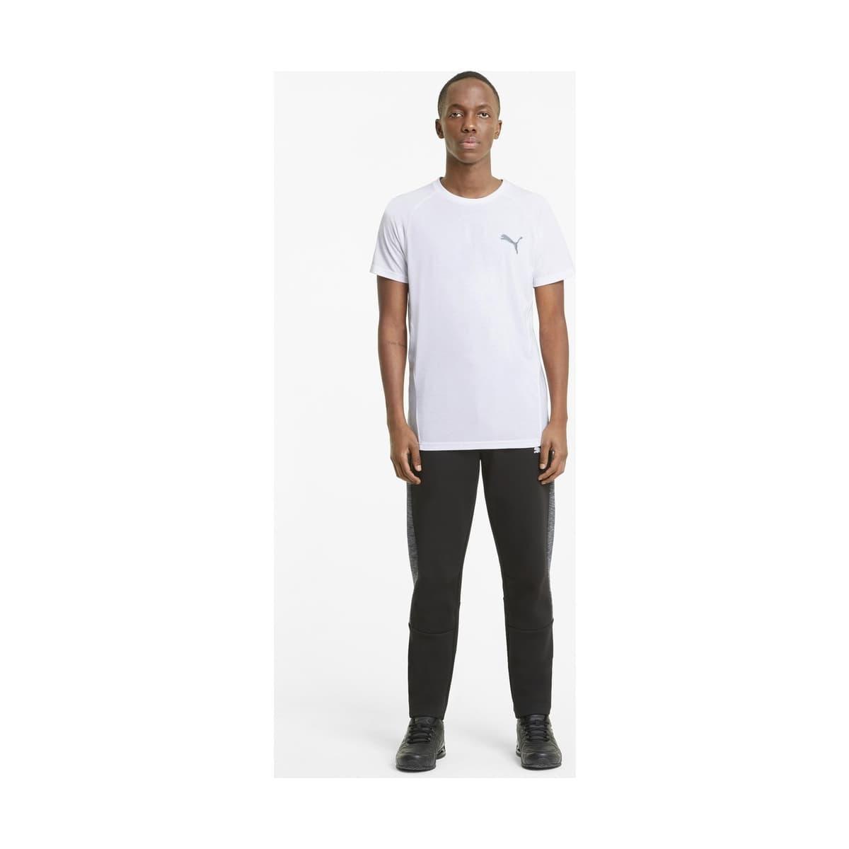 Evostripe Erkek Beyaz Tişört (585806-02)